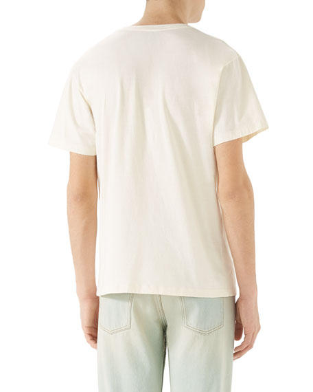 1aaad9418 Gucci Cities Logo Graphic T-Shirt