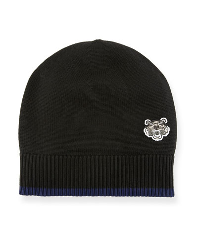 Men's Tiger Crest Wool Beanie Hat
