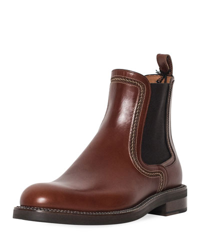 Men's Abrasivato Leather Chelsea Boot
