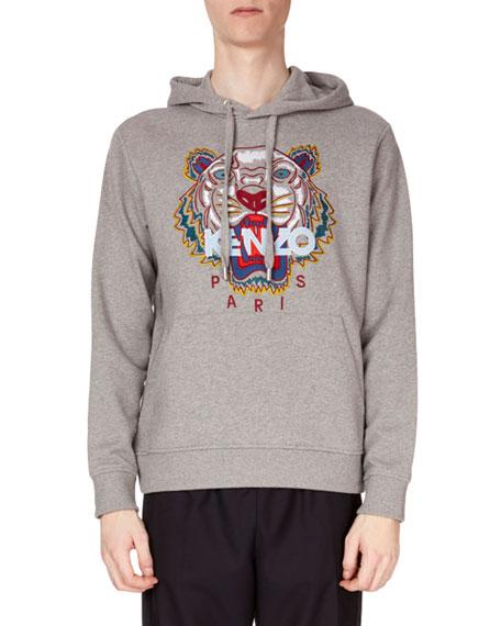 Kenzo Men's Tiger Pullover Hoodie Sweatshirt