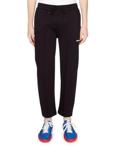 Men's Drawstring Cropped Jogger Pants