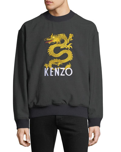Men's Logo Embroidered Sweatshirt