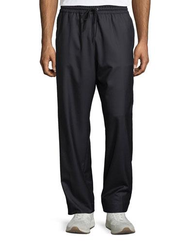Men's Drawstring Cargo-Pocket Pants