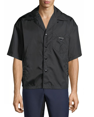 Men's Nylon Short-Sleeve Shirt