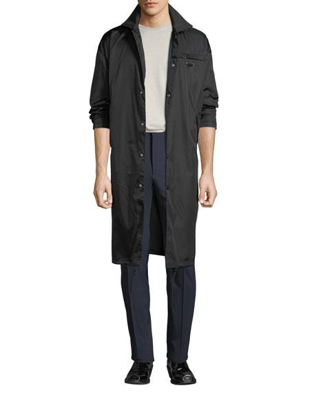 Prada Men's Waterproof Snap-Front Coat