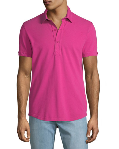 Men's Sebastian Tailored Polo Shirt