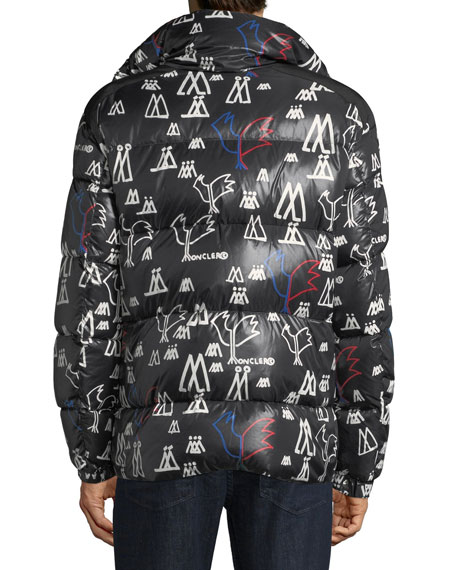 4cf1ca9a9746d Moncler Men s Marennes Graphic Puffer Jacket