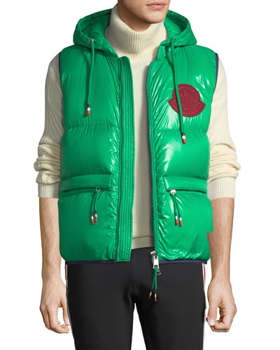 Men's Lorent Double-Hood Puffer Vest
