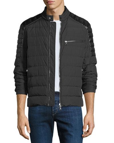 Men's Meylan Quilted Zip-Front Jacket