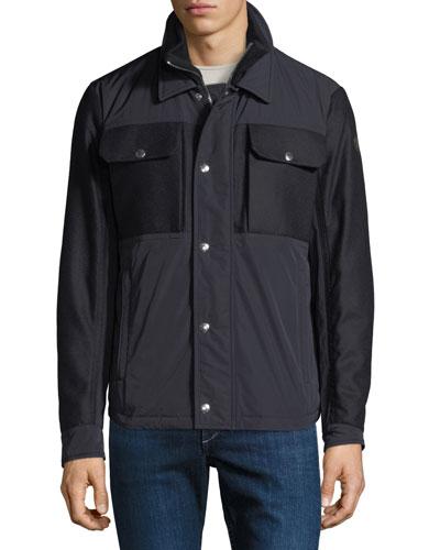 Men's Beaufort Zip-Front Utility Jacket