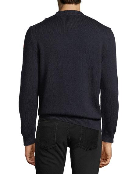 111c9e3682d1 Moncler Men s Graphic-Front Wool Sweatshirt
