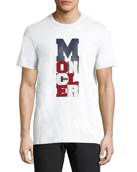 c61df3856 Moncler Men's Graphic Logo-Print T-Shirt