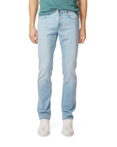 Men's Tyler Slim-Fit Light-Wash Jeans, Radicata