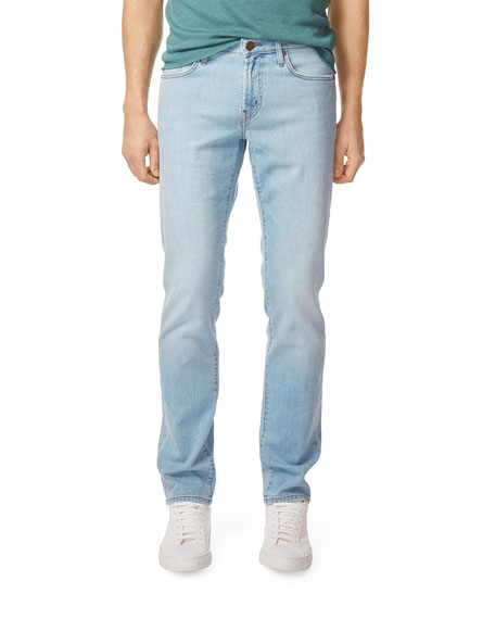 light wash jeans outfit mens