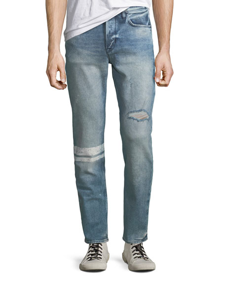 the latest detailed pictures top-rated cheap Men's Sartor Distressed Skinny Jeans