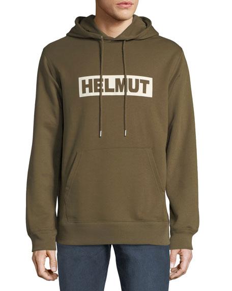 Men's Logo Typographic Hoodie