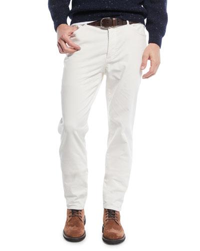 Men's 5-Pocket Fine-Wale Corduroy Pants