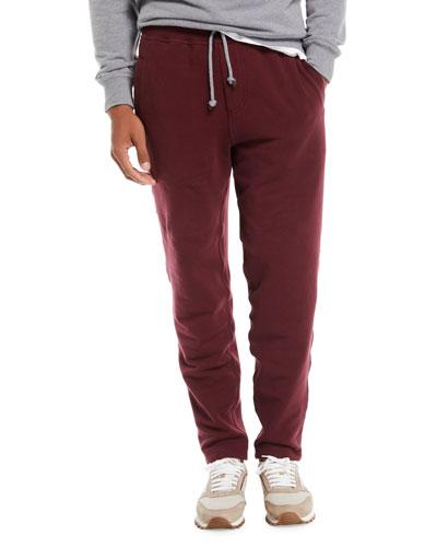 Men's Cotton-Blend Drawstring Sweatpants