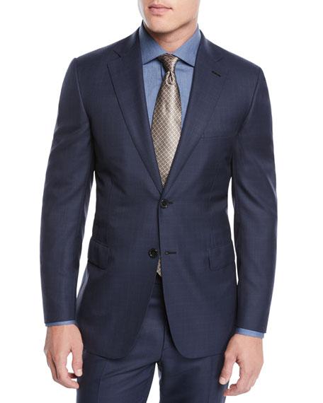 Brioni Men's Two-Piece Plaid Wool Suit