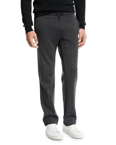 Men's Heathered Jersey Sweatpants
