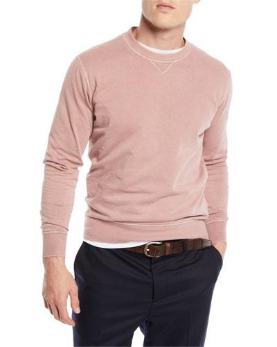 Men's Raglan Crewneck Sweater