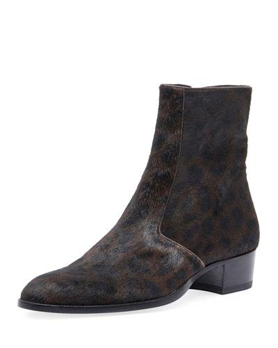 Men's Wyatt 40 Calf Hair Ankle Boot
