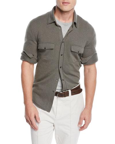 Men's Western Shirt Cardigan