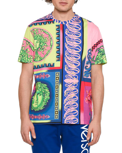 Men's Graphic Medusa-Print T-Shirt