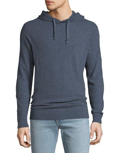 Men's Slub Cotton Pullover Hoodie