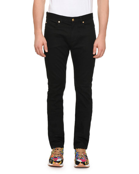 Men's Denim Jeans w/ Barocco Pocket