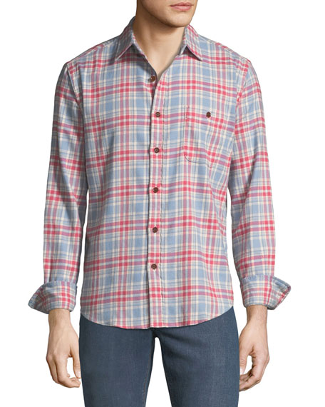 Faherty Men's Stretch Seaview Long-Sleeve Shirt