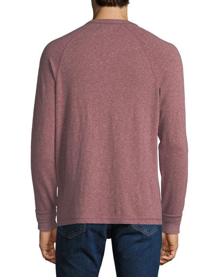 a88eea4f Faherty Men's Luxe Heather Organic Slub Henley Shirt