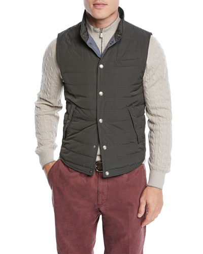 Men's Lightweight Padded Vest