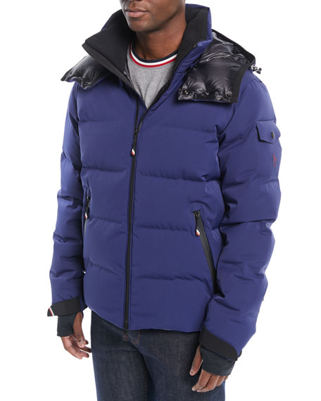 Men's MontgeTech Quilted Hooded Puffer Jacket