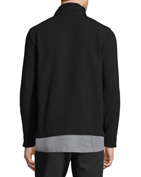 Men's Maglia Zip-Front Shirt Jacket