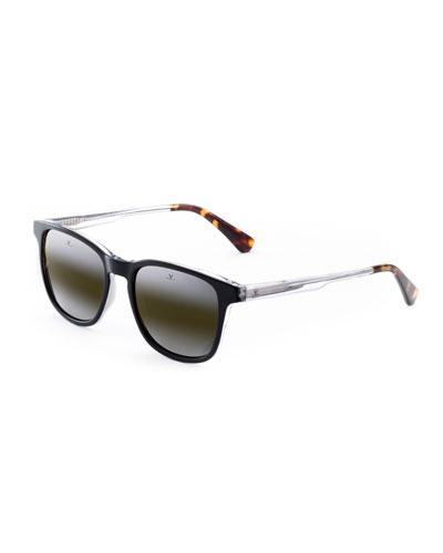 Men's District Medium Square Acetate Sunglasses