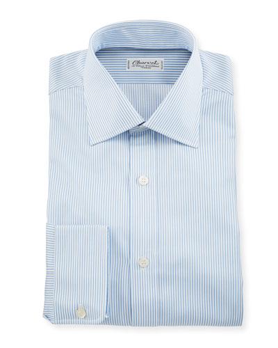 Men's Small Stripe Dress Shirt