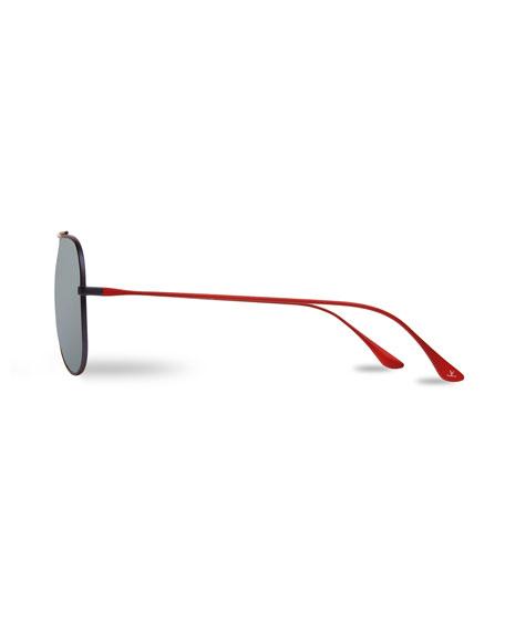 2474e8a03a Vuarnet Men s Titanium Aviator Sunglasses