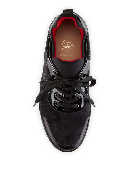 2bb4c7169da24 Christian Louboutin Men s Aurelien Multimedia Low-Top Sneaker
