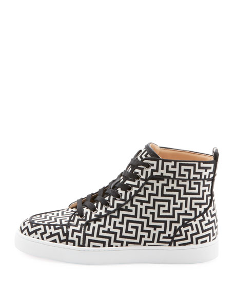 quality design 2fc2c bdfc4 Men'S Rantus High-Top Graphic Sneakers in Black/White