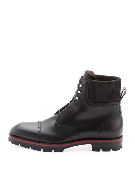 online retailer 881f9 651de Men's CityCroc Leather Hiking Boots