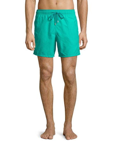 Men's Hypnotic Turtles Water-Reactive Swim Trunks