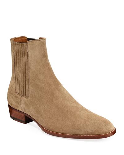 Men's Wyatt Suede Chelsea Boots