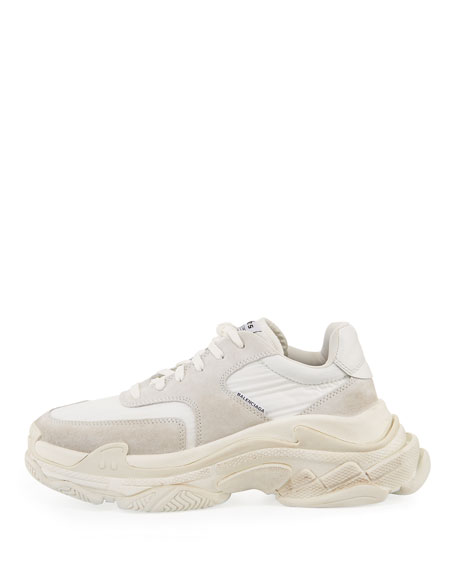 Men's Triple S Nylon Sneakers