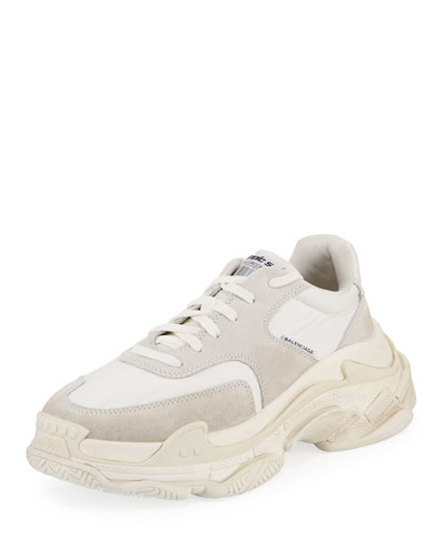 Men's Triple S Nylon Sneakers
