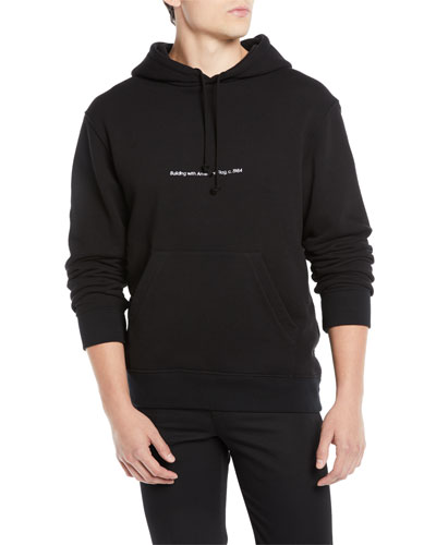 Men's Logo Pullover Hoodie