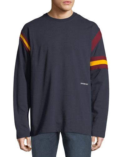 Men's Long-Sleeve Rugby T-Shirt