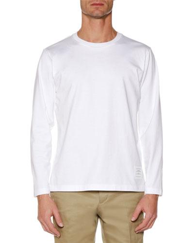 Men's Relaxed-Fit Long-Sleeve Jersey T-Shirt