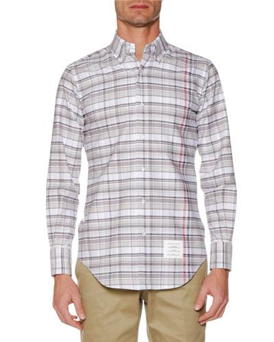 Men's Check Oxford Shirt