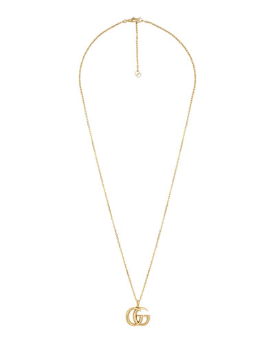 Men's 18k Gold GG Running Necklace